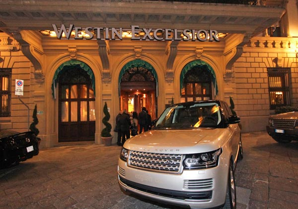 Cocktail party per la nuova Range Rover Classic