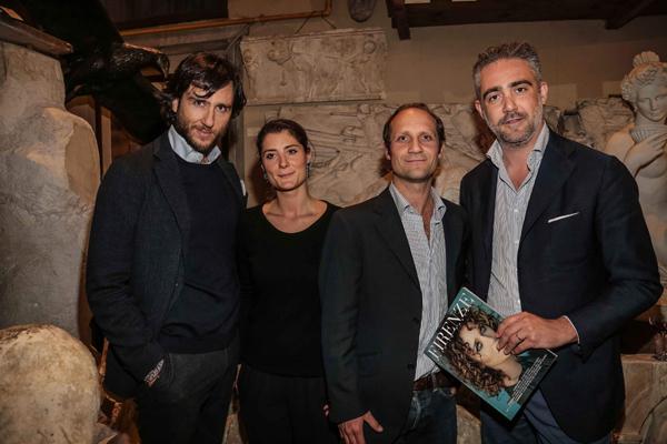 Raffaello and Rubina Romanelli, Alex Lana, Matteo Parigi Bini