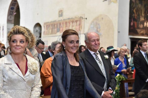 Alessia Borghini, Yolanne Roger, Gianluigi Borghini Baldovinetti