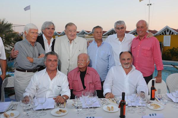 Beppe Bigazzi, Umberto Buratti, Sirio Maccioni, Renato Pozzetto, Gherardo Guidi and Giancarlo Aneri, Carlo Baccheschi Berti, Gino Paoli and Cesare Cecchi