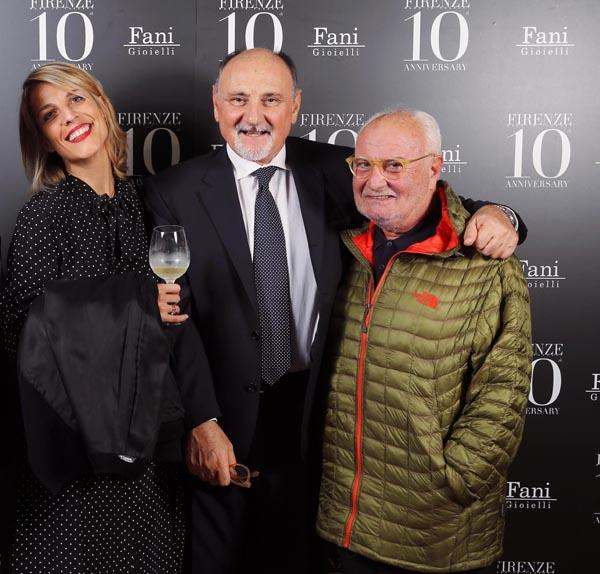 Giulia Dirindelli, Cesare CEcchi, Gianni Mercatali