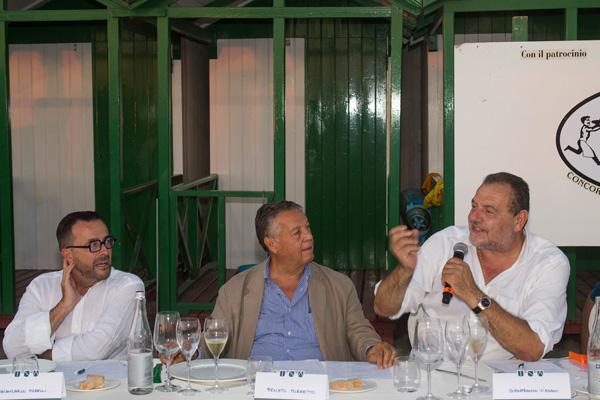 Giancarlo Morelli, Renato Pozzetto, Gianfranco Vissani