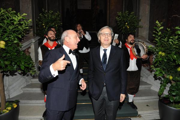 Generoso Di Meo, Vittorio Sgarbi