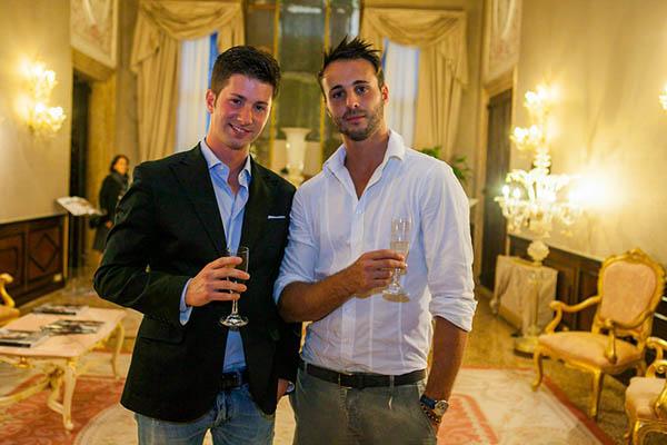 Nicolas e Mirko