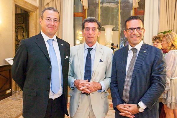 Pierluigi Aluisio, Pietro Mariutti, Marco Toson