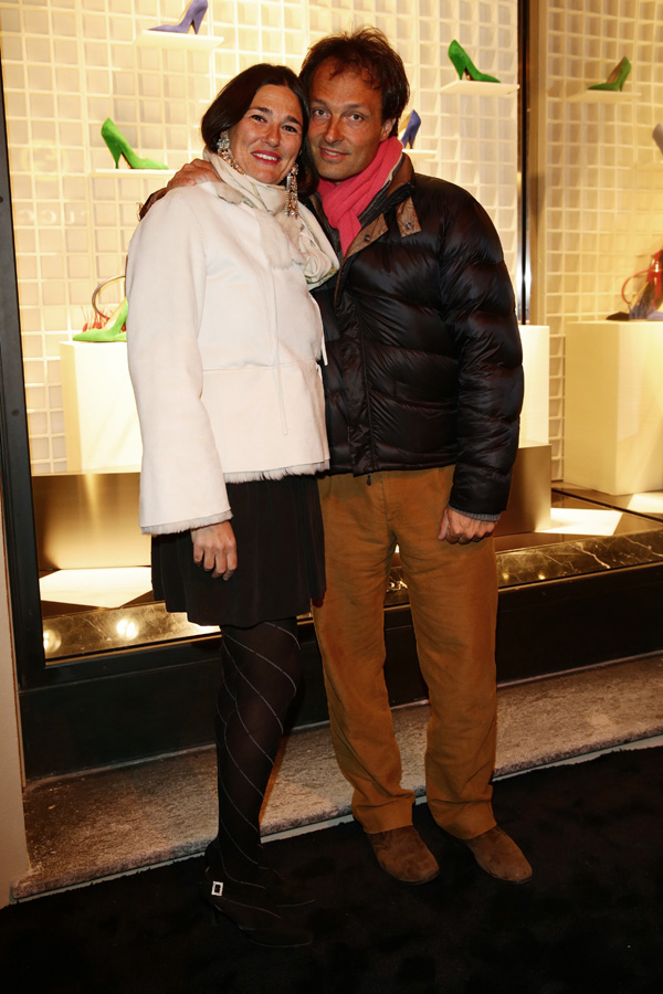 Elisabetta Marchi and Federico Marchi