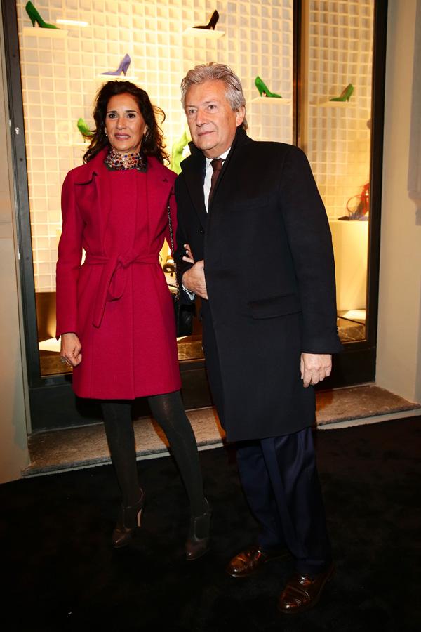 Alessandro Bastagli and Patrizia Batacchi