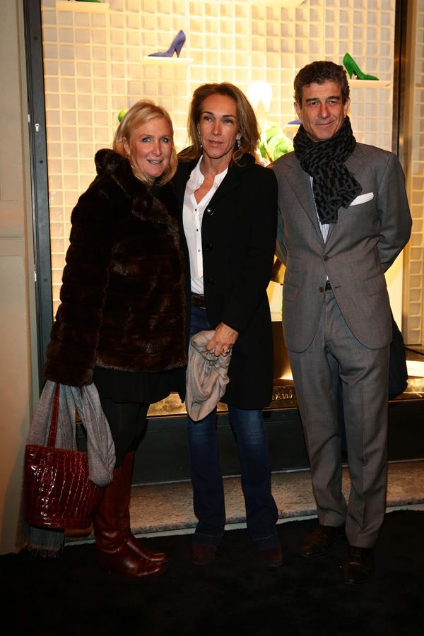 Elenora Frescobaldi, Elisabbetta Mazzei and Filippo Mazzei