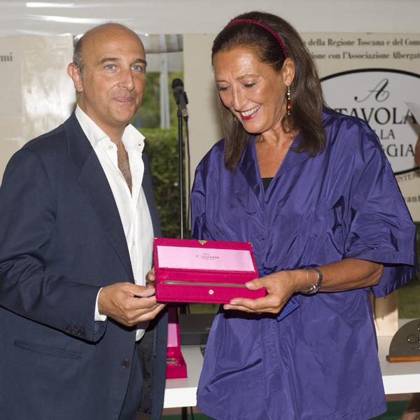Filippo Cassetti, Francesca Bianucci Cinelli