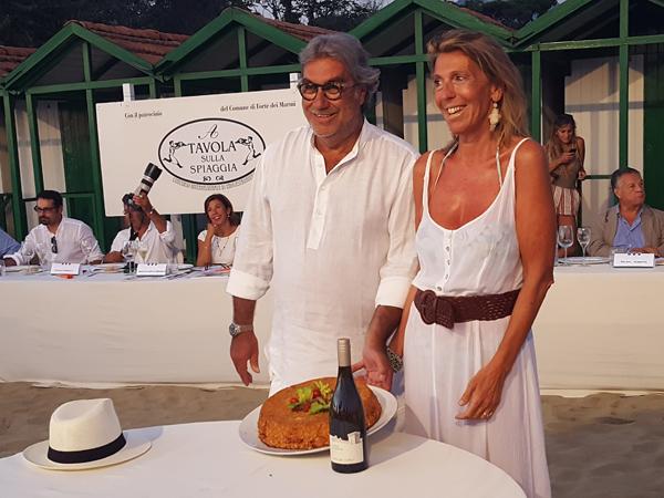 Pierpaolo Taraschi and Antonella Giachetti