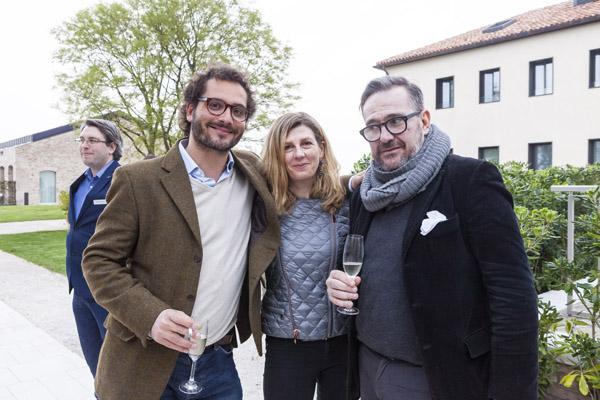 Alberto Buogo,  Eleonora Chielli, Igor Zanti