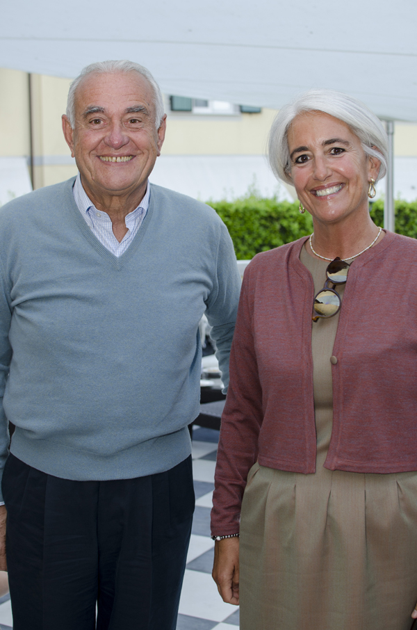 Aldo and Alessandra Casali