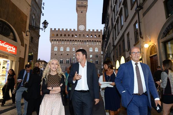 Franca Sozzani, Matteo Renzi, Raffaello Napoleone