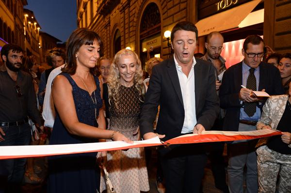 Franca Sozzani, Matteo Renzi