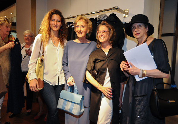 Leonia e Bona Frescobaldi, Cinzia Moncada, Beatrice Cifuentes