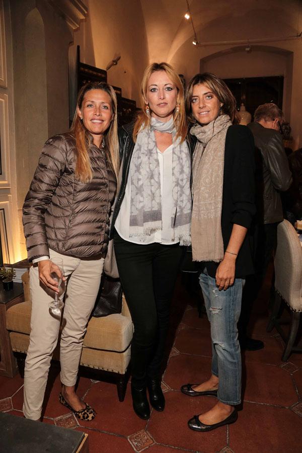 Angelica Becagli, Francesca Pini e Chiara Nencini