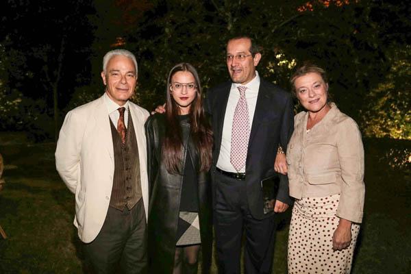 Francesco Colonna, Barbara, Giorgio e Ginevra Moretti