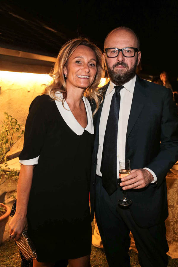Patrizia and Simone Bellocci