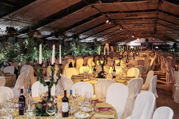 Angeli del Bello: Charity dinner party