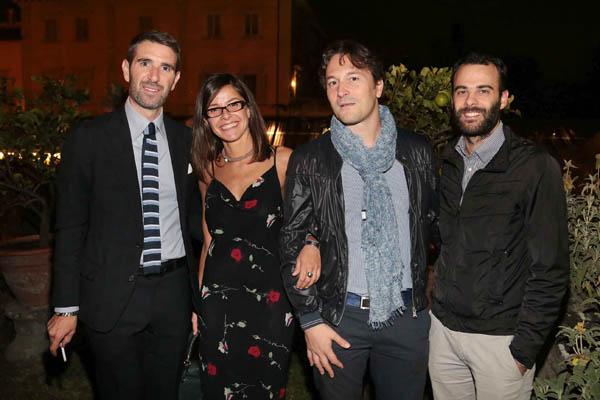 Antonio Passanese, Francesca Calonaci, Andrea Vignolini, Lorenzo Galli Torrini