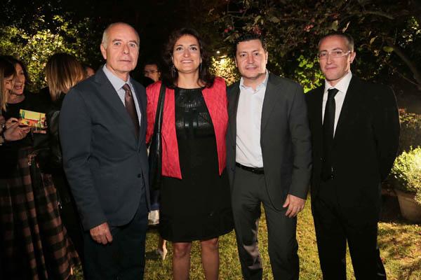 Claudio Bianchi, Alessia Baccini, Gregorio Salimbeni, Fabrizio Carabba