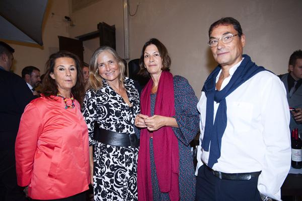 Anna Lunghi, Patricia Lynch, Grazia Fiozzi, Alfonso Maccaroni