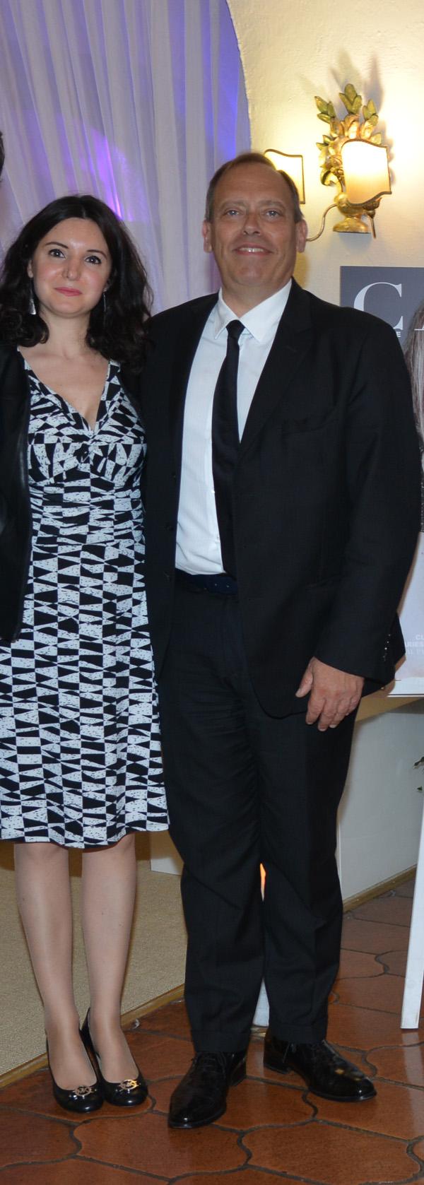 Cristina Rizzo, Alessandro Auger