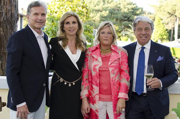 Antonio Cammi, Anna Lebole, Paolo and Sara Baracchino