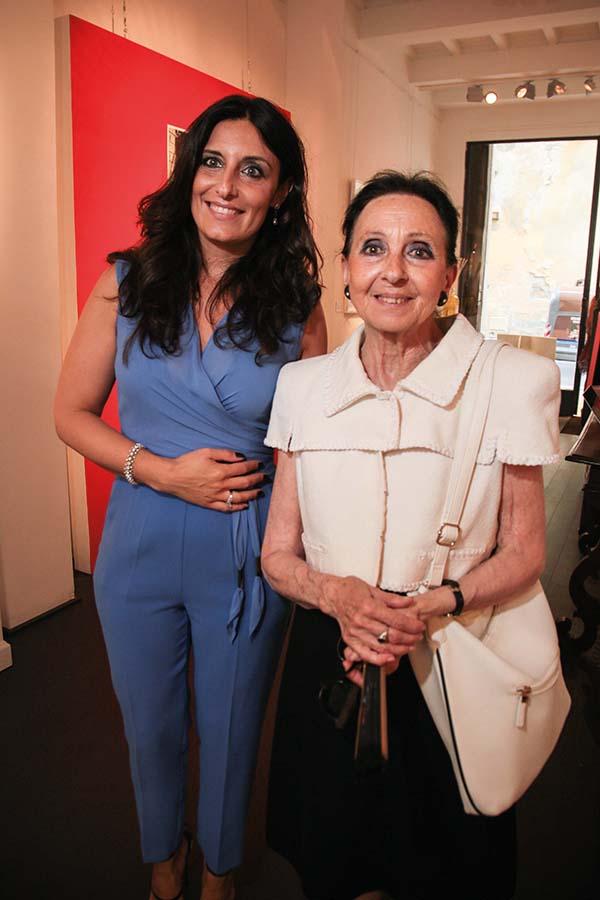 Erika Ghilardi e Maria Luisa de Montemajor