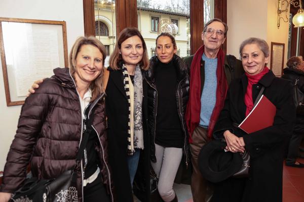 Michela Rossetti, Marta Capodaglio, Elettra, Michele Terrain, Gianna Gorini