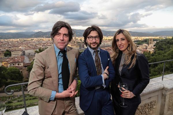 Valentino, Nicola and Silvana Ricci
