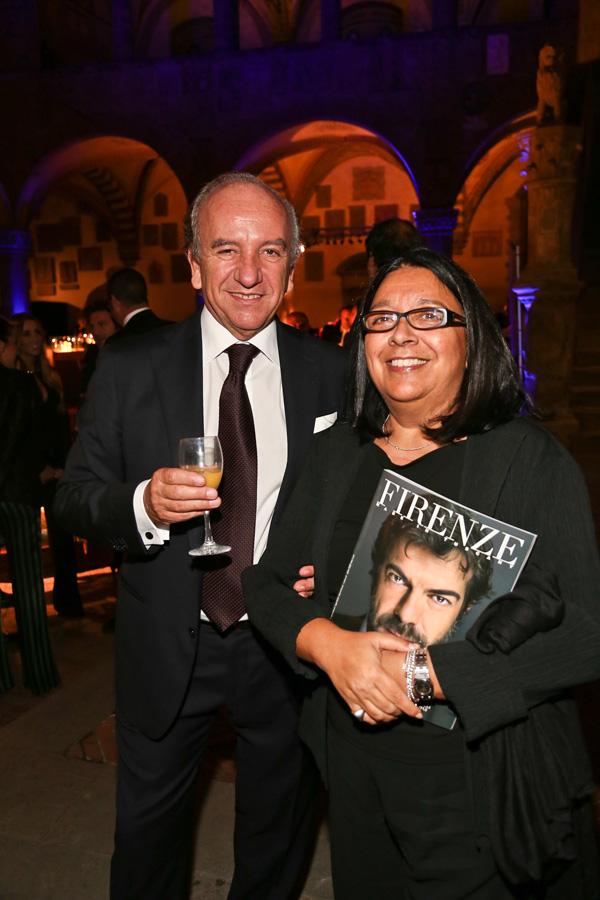 Maurizio and Sylvie Bonas