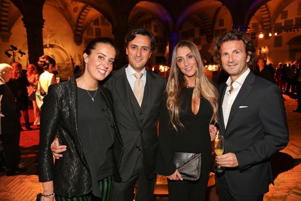 Giulia Corsi, Gabriele Brotini, Ilaria Raffaelli and Lorenzo Ristori