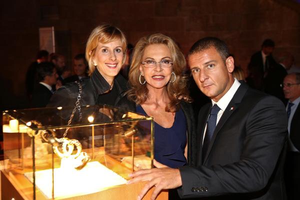 Valeria Beldon, Maria Cristina De Miranda and Jacopo Grassi