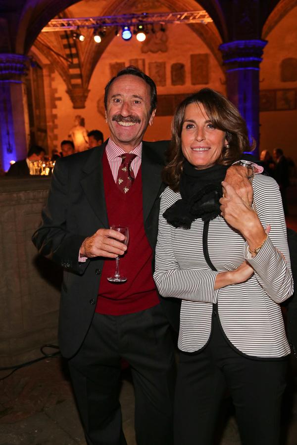 Andrea Parigi and Cecilia Bevacqua