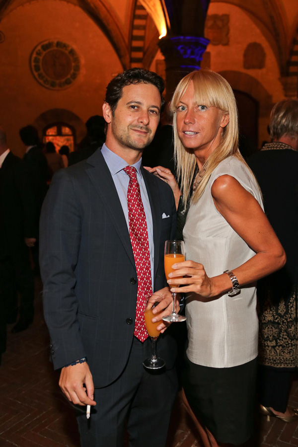 Uberto Pecoraro Ricci Armani and Elena Moretti