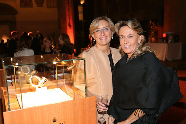 Letizia Meli and Elisabetta Gheri