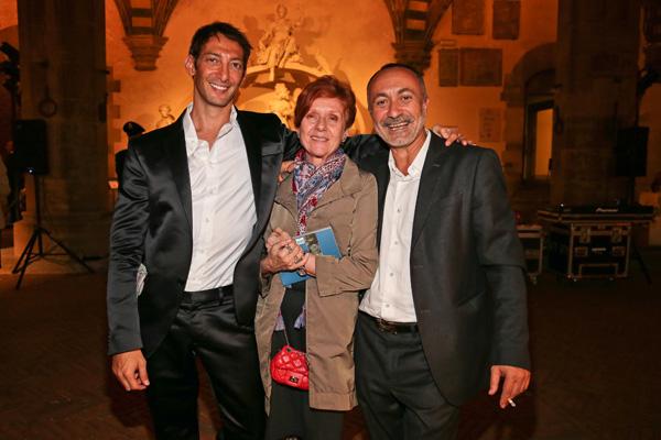 Stefano Palmigiano, Lola De Avila and Giorgio Mancini