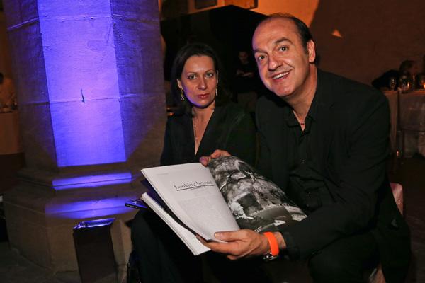 Serena Del Nero and Rossano Maniscalchi