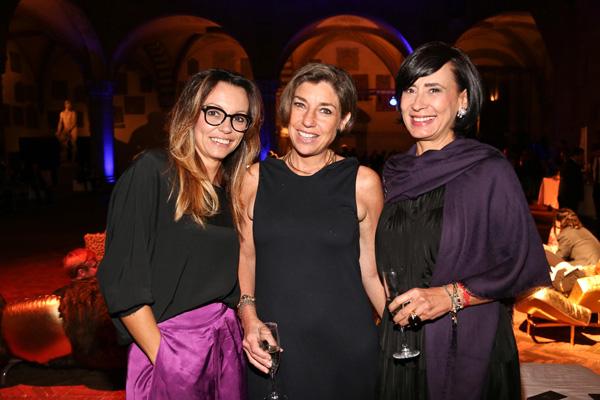 Cristina Bacarelli, Consuelo Blocker and Antonella Visi