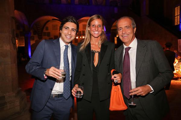 Giacomo Colussi, Alessia Galdo and Luigi Salvadori