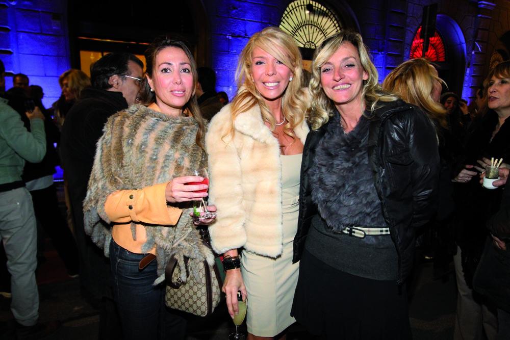 pressphoto, Firenze Inaugurazione centro benessere Bellessenza     Elisabetta e Antonella  Quaranta, Barbara Vergelli