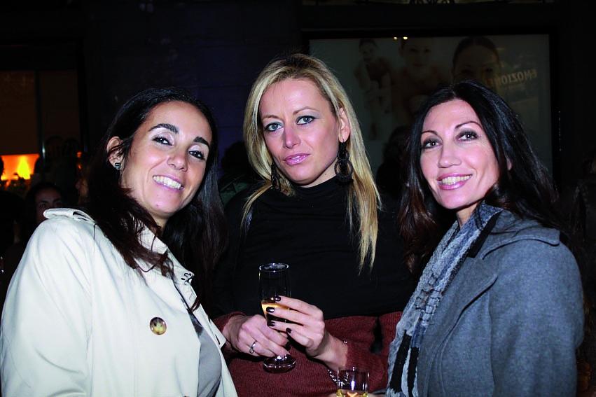 pressphoto, Firenze Inaugurazione centro benessere Bellessenza  Alessandra Bacci ,Laura Turchi, Francesca Siena