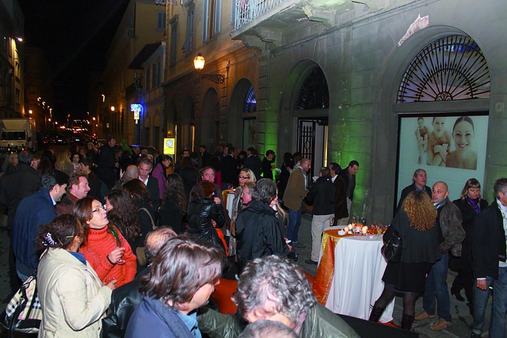 pressphoto, Firenze Inaugurazione centro benessere Bellessenza