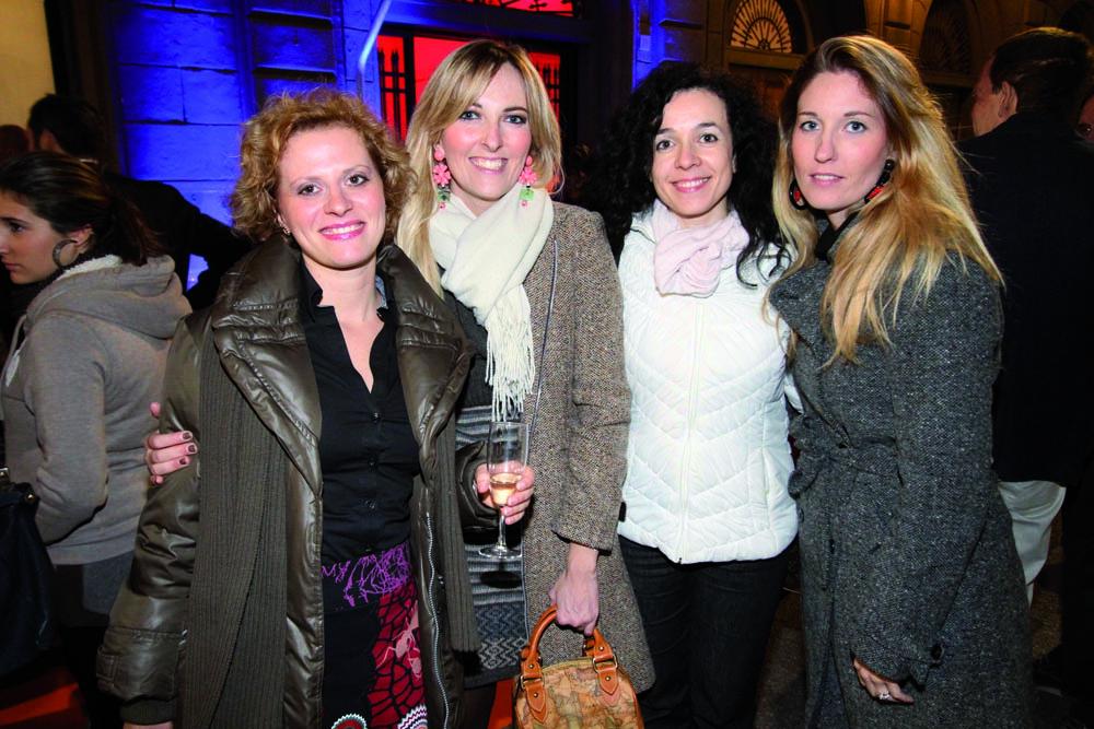 pressphoto, Firenze Inaugurazione centro benessere Bellessenza  Francesca Baldari, Elena Calamandrei, Paola e Ilaria Mechetti