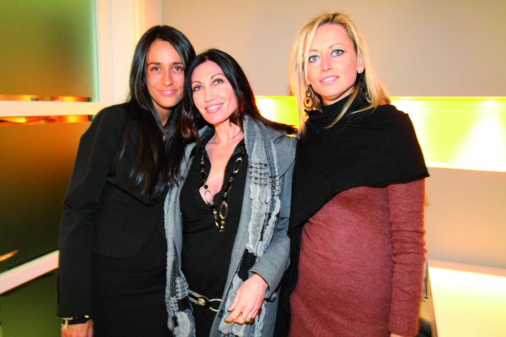 pressphoto, Firenze Inaugurazione centro benessere Bellessenza  SAra Nani, Laura Turchi, Francesca Siena