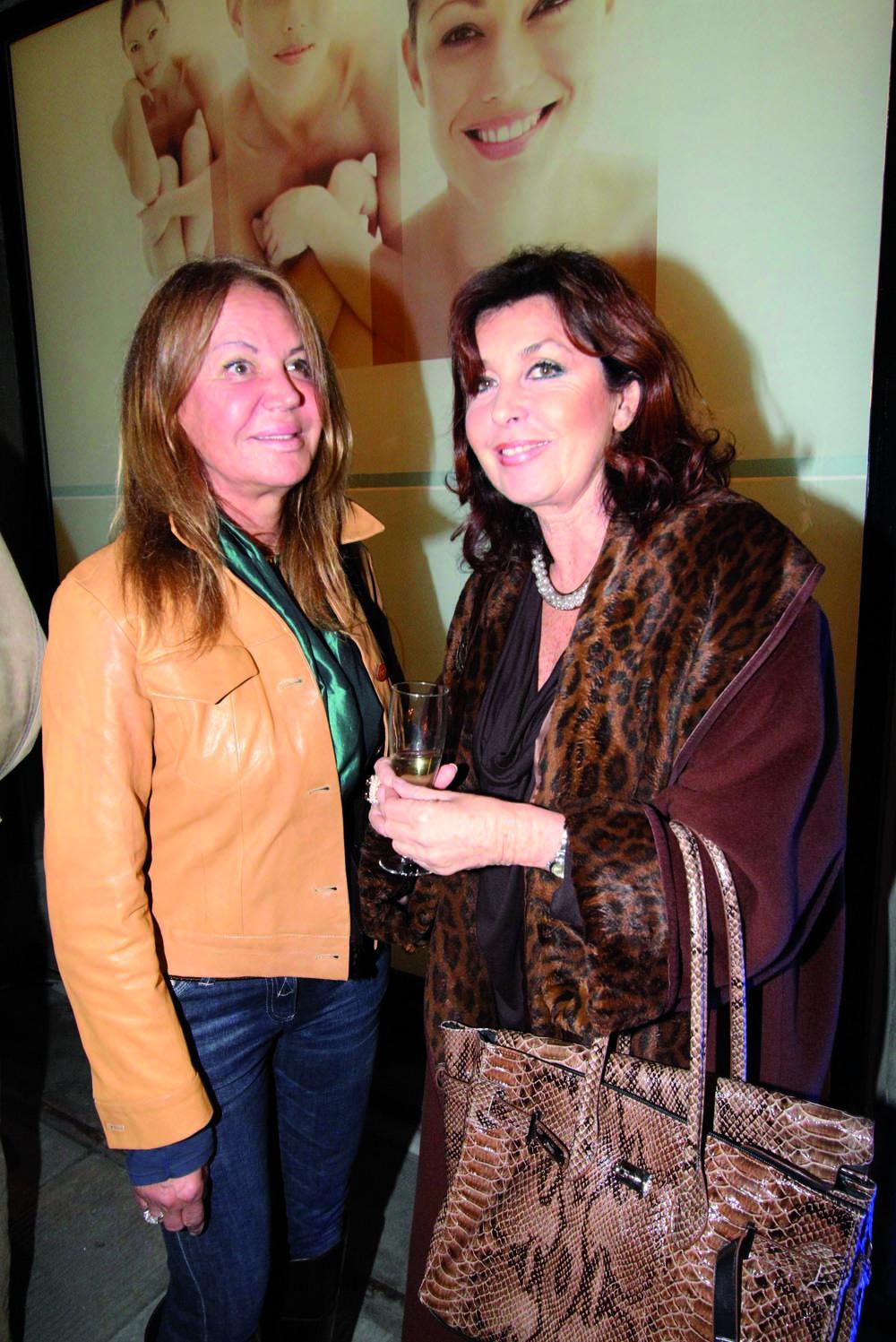 pressphoto, Firenze Inaugurazione centro benessere Bellessenza  Fiorella Bennucci, Gloria Zorro