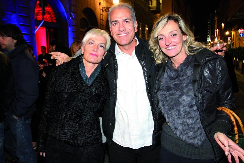 pressphoto, Firenze Inaugurazione centro benessere Bellessenza  Monica Berti, Jamaln Amin. Barbara Vergelli