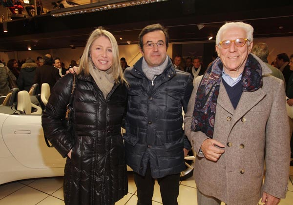 Francesca Desii, Antonio Bianchi, Sergio Messina