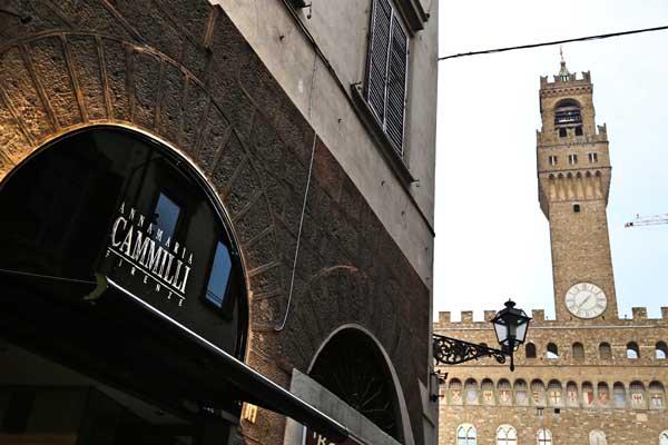 Annamaria Cammilli inaugura il suo primo monomarca a Firenze